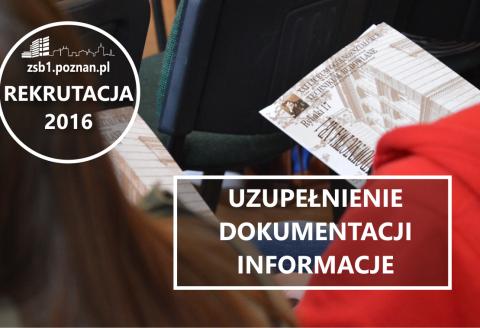 uzupelmnieniedokumentacji informacji