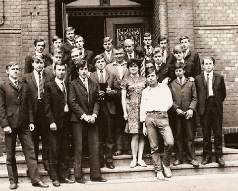 Klasa IIIb 1968-69