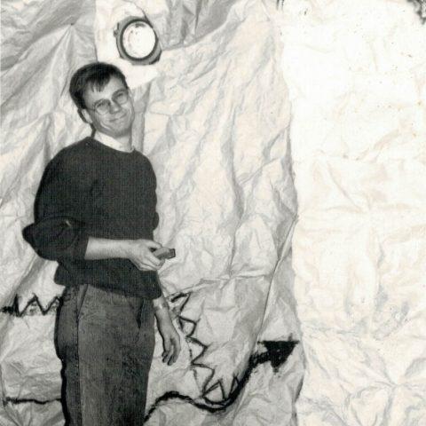 Przygotowania auli do Studniówki 1988r_2