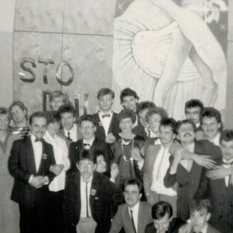 Studniówka 31.01.1987r. klasa Vc_10