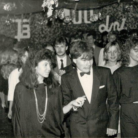 Studniówka 31.01.1987r. klasa Vc_12