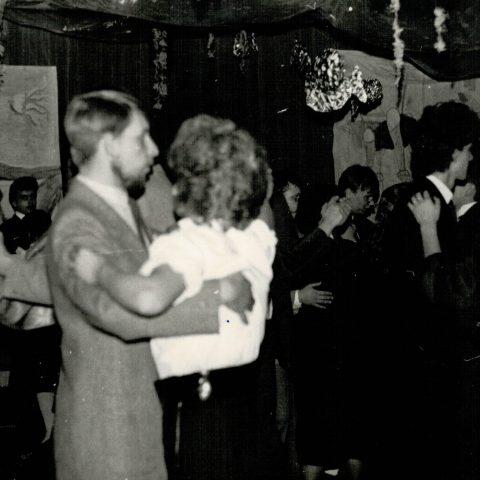 Studniówka 31.01.1987r. klasa Vc_13