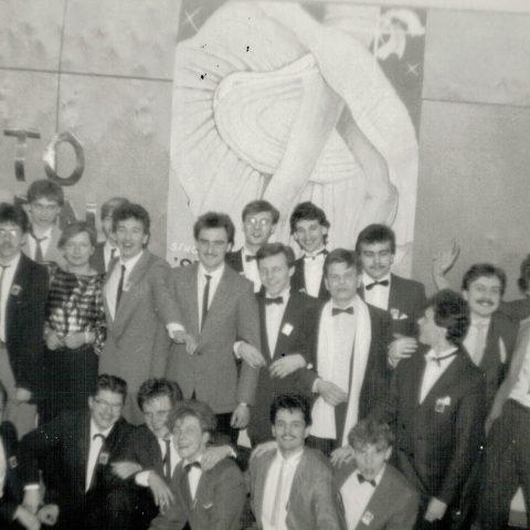 Studniówka 31.01.1987r. klasa Vc_9