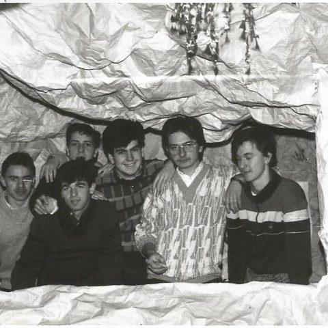 TB kl. Vc - 1988.02 - przygot. do studniówki (2)