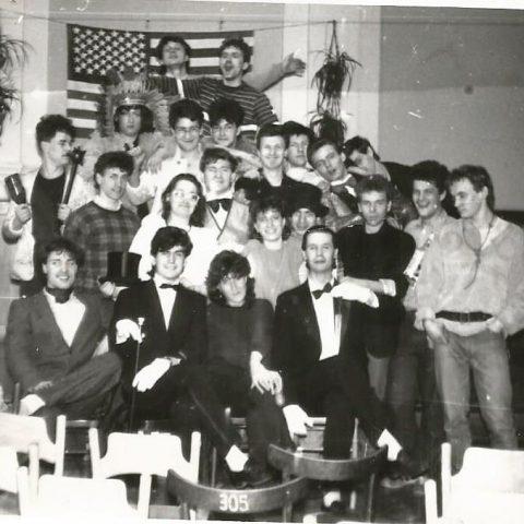 TB klasy IV-te - Dzień amerykański - 1987.04.01