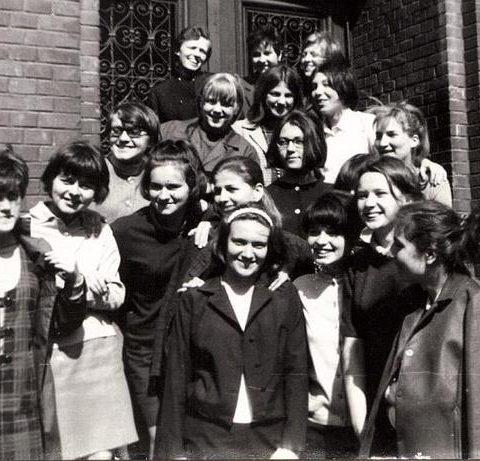 Tuż przed maturą. Rok 1968.