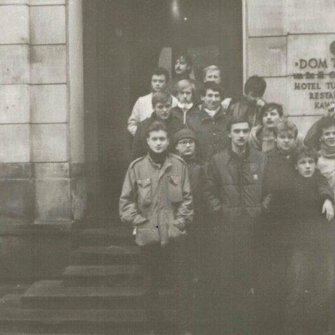 Wycieczka do Warszawy 13-15.XII.1985r. klasa IVc_1