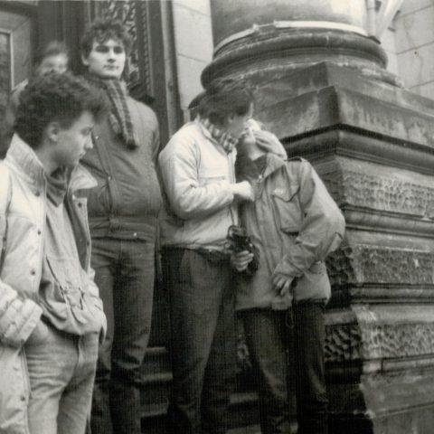 Wycieczka do Warszawy 13-15.XII.1985r. klasa IVc_2